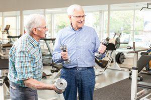 Oudere heren fysiotherapie - FotoFluivius