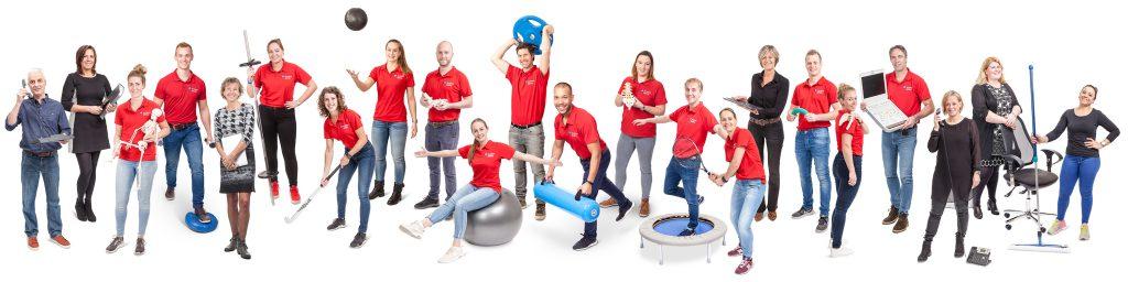 Flexibele teamfoto - Foto Fluvius