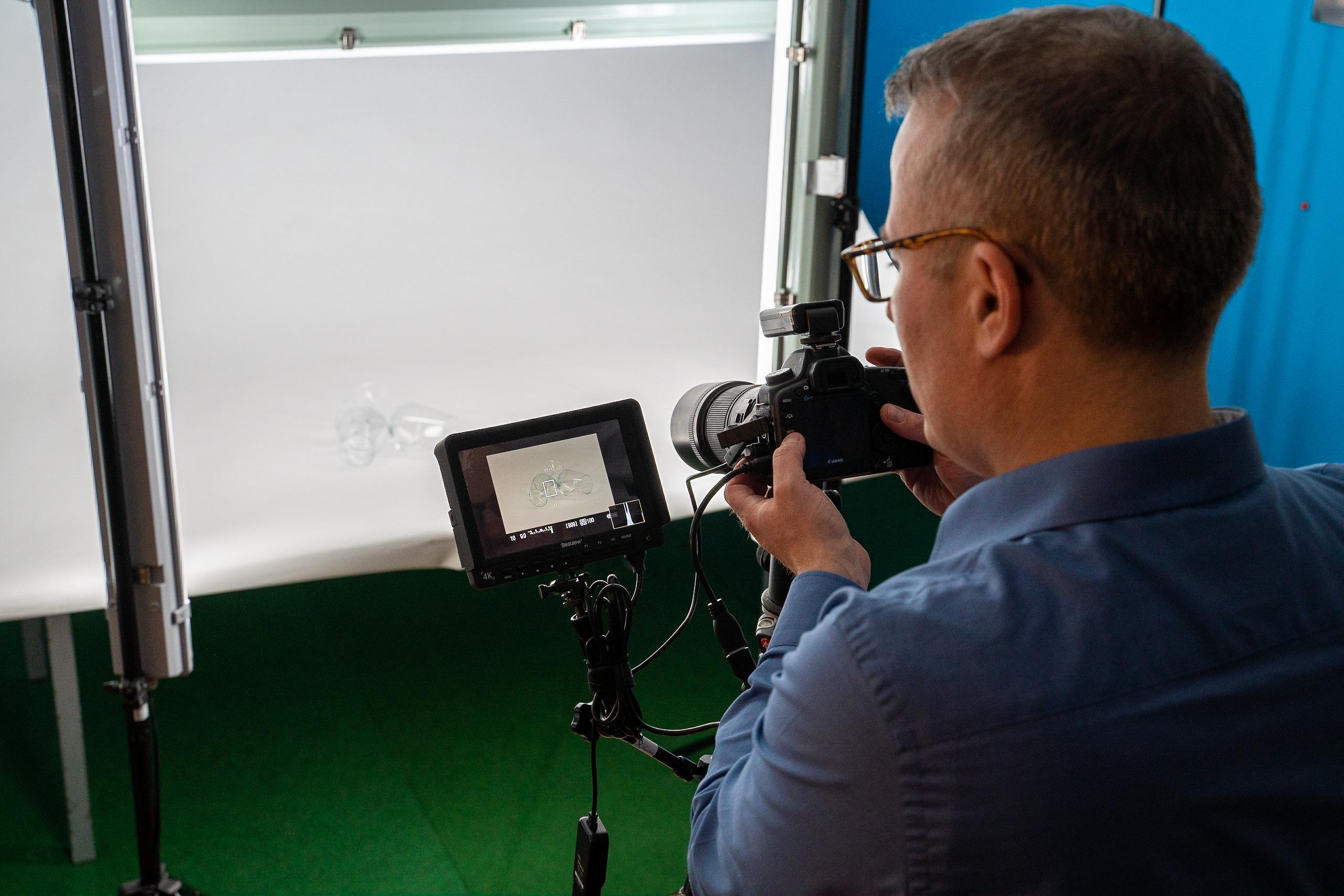 Productfotografie oplevering van de foto's.